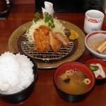 かつグルメ - 料理写真:ヒレかつランチ 734円