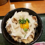 山薬 清流庵 - 豚バラ丼