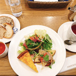 広島アンデルセン - 野菜デリプレートB(1296円)