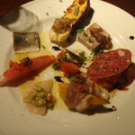 バンブー - 前菜の盛り合わせ