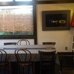 ふみくら茶屋 - テーブル席