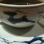銀座洋食 三笠會館 - 全ての食器が鹿模様