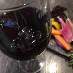エロうま野菜と肉バル カンビーフ - サングリアは甘めの飲みやすいタイプ