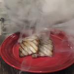 エロうま野菜と肉バル カンビーフ - 桜のチップスモーク