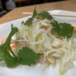 大衆食堂 火成 - ネギとパンチェッタの生姜風味