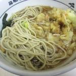 箱根そば - そばが、茹で湯か