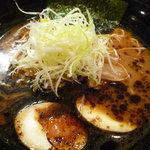 麺匠和蔵 - 焼き味噌ラーメン・味玉トッピング