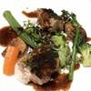フレンチシェフ たにかわ - 料理写真:◆若鶏もも肉ソテー粒マスタードバルサミコソース