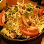 道とん堀 - 「野菜と豆のサラダ」