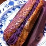 ワビサ - エクレア・紫芋。