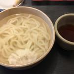 釜揚うどん店あおやま - 釜揚げうどん、大(太麺)680円