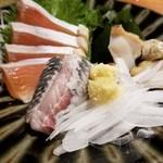 魚哲 - 刺身盛合せ(2人前)(2400円)※二皿目