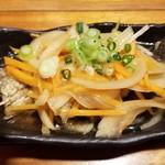 魚哲 - いわし南蛮漬け(480円)
