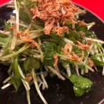 龍文支店 - 定番の水菜サラダ