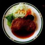 レストランピーコック - 料理写真:ポークカツ