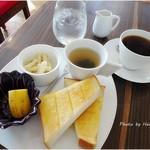 ブラウンカフェ - モーニングサービス450円