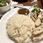 Asian Dining & Bar SAPANA - カオマンガイ1000円、ドリンク付き