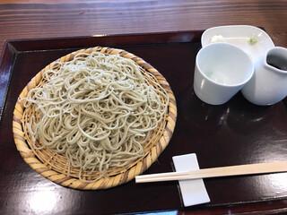浅田 - 十割そば、1,100円