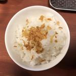頑固麺 - 〆飯
