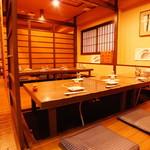 瀬戸内魚料理かねも - 掘りごたつ個室8名様×1