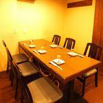 瀬戸内魚料理かねも - テーブル6名様×1