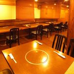 瀬戸内魚料理かねも - テーブル20名様×1