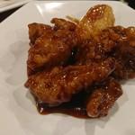 鵬天閣 - 黒酢酢豚
