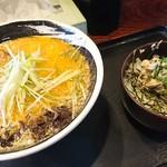 羅妃焚  - 料理写真:特製しょうがみそ950円、チャーマヨ丼200円(全て税込)