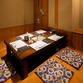 名店の味わいを錦の素敵な空間ででお愉しみいただけます