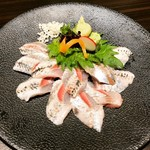 湯島 神威 - イワシのお刺身