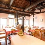 マカロニ食堂 - 古民家を改装したおしゃれなつくり
