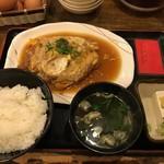 なごし - 煮カツ定食2019.2.19