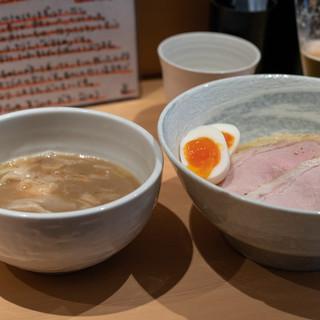 道の塩 - 料理写真:2019.1 特製塩つけ麺(1,100円)