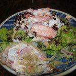 鮨処みつや - 毛ガニのサラダ1600円