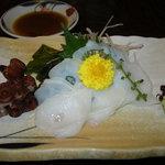鮨処みつや - 生蛸の刺身650円
