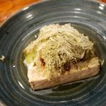 たこ寅 - 豆腐