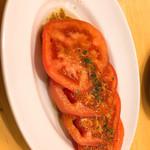 ましゅ ましゅ - 完熟トマトのサラダ