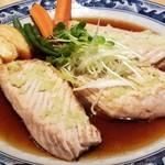 魚河岸 丸天 - カジキマグロのハラミワサビステーキ