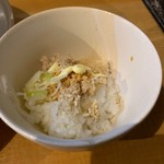 中華そば 大井町 和渦 - 【鶏ラー油マヨ丼…10円】2019/2