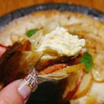 レガーレ+茂 - 熱々アップルパイ