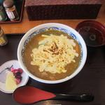 京のカレーうどん味味香 - 豚肉カレー丼焼きチーズ入り