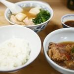 Taishuukappousanshuuya - 『金目煮付とライス』 (※ごはんは軽めです)