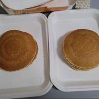 マクドナルド-ホットケーキ2個
