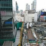 102247597 - ヒカリエから渋谷駅方面を望む