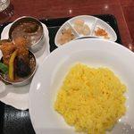 カレーダイニング アビオン - 「ビーフとカツのDuet Curry」1,343円