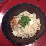 米増 - 鯛飯は京都に帰ってから、三回に分けて食べました