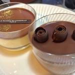 ラ・メゾン・デュ・ショコラ   - ティラミス 540円 ムース・オ・ショコラ 540円