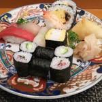 玄海鮨 - 海 ランチ  800円