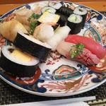 玄海鮨 - 海 ランチ  リバースアングル