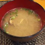玄海鮨 - 貝汁   これと茶碗蒸し  デザートが付きます